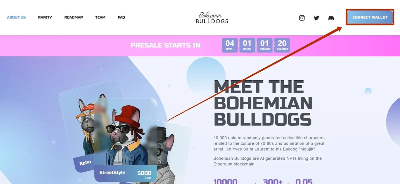 Регистрация в Bohemian Bulldogs