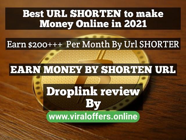 EARN MONEY BY SHORTENING URLS