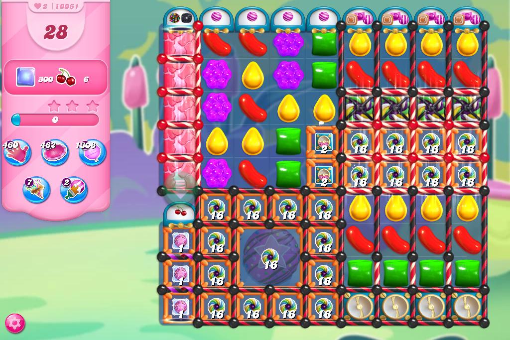 Candy Crush Saga level 10061