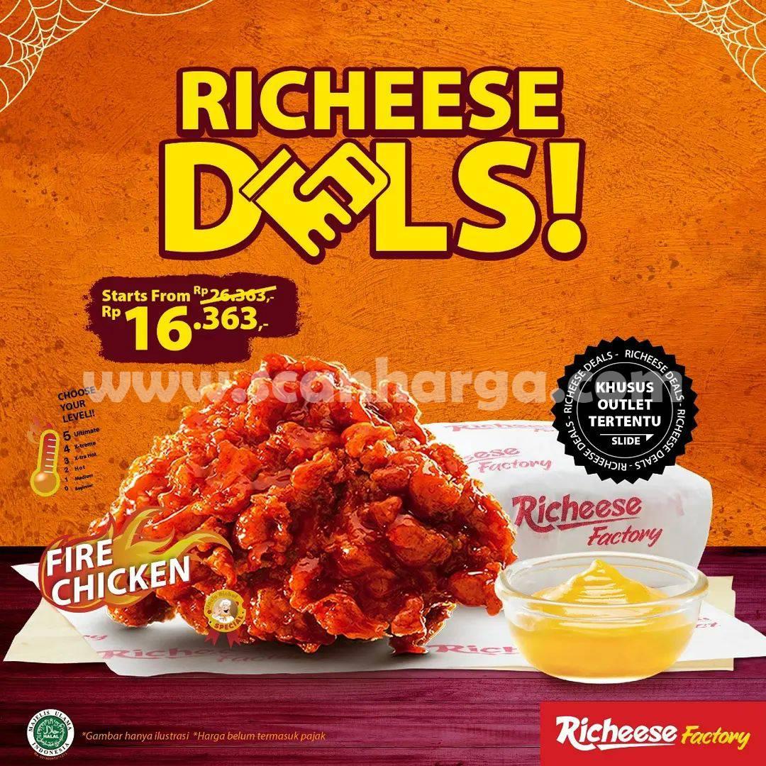 RICHEESE FACTORY Promo Richeese Deals – Harga mulai Rp. 16.363