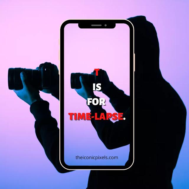 Tis for... Time-lapse