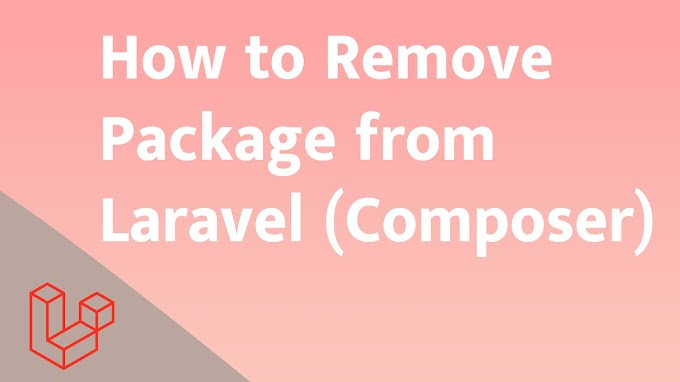 How to Remove Package from Laravel (Composer)