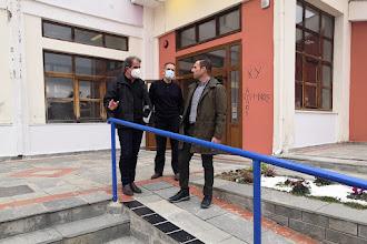 Οι τελευταίες πινελιές στο 3ο Λύκειο από τον Δήμο Καστοριάς