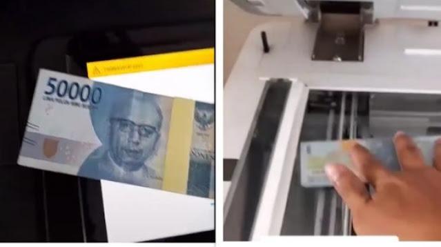 Viral Pria Fotokopi Uang Kertas, Kaget Lihat Hasilnya Muncul Tulisan Begini