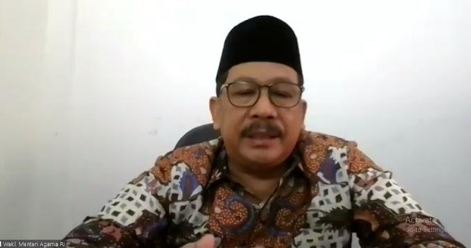 Apresiasi Wahdah Islamiyah, Wamenag: Umat dan Ormas Islam Harus Sinergi Bangun Bangsa*