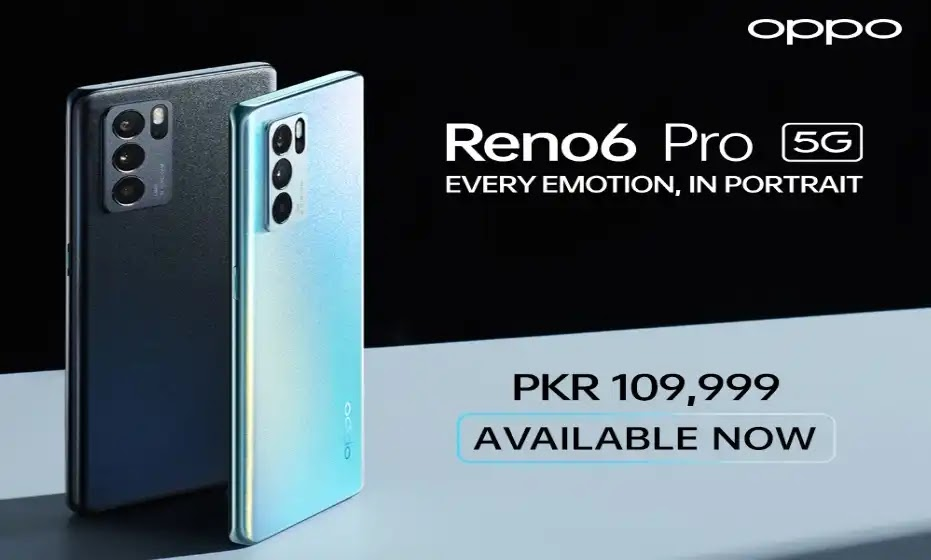OPPO Reno6 Pro 5G Goes on Sale Nationwide