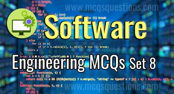 Software Engineering MCQ Set 8