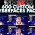 NBA 2K22 600 RANDOM CUSTOM CYBERFACES PACK BY alcausinfrancis