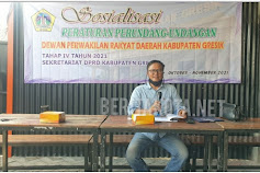 Anggota Fraksi PKB Sholihuddin Sosialisasi Perda Pengurangan Penggunaan Sampah Plastik