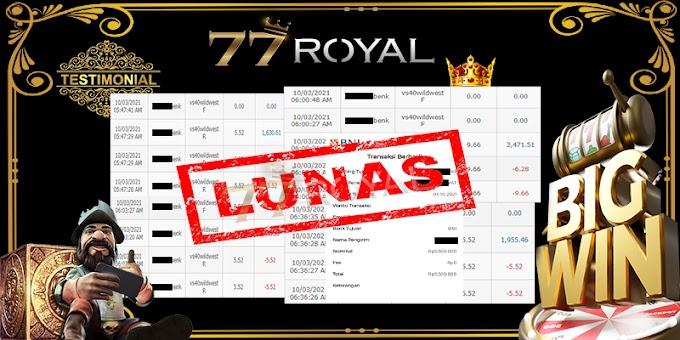 Testimonial 77Royal #52