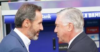 أكد فيسينتي مورينو ، مدرب إسبانيول هزيمة ريال مدريد لا تحدث كل يوم
