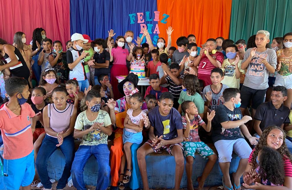 Prefeitura de Aurora realiza ação para comemorar o Dia das Crianças