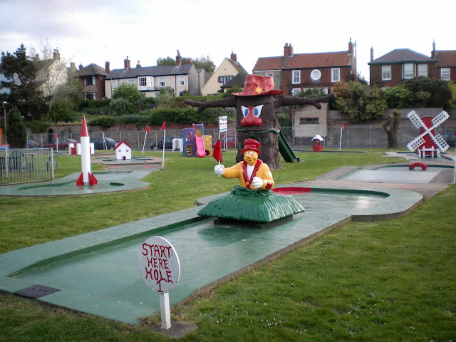 Crazy Golf at Pop's Meadow in Gorleston-on-Sea