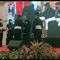 Penganugerahan Warga Kehormatan PSHT-Pusat Madiun tahun 2021 kepada Ketua DPD dan Ketua BPKN RI