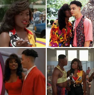 Picture collection of Alysia Rogers acting with her co-actors