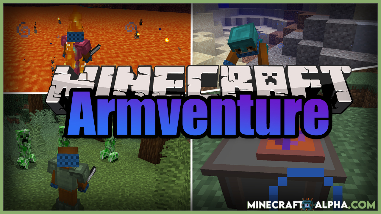 Minecraft Armventure Mod 1.17.1 (Utility Armors)