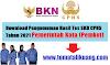 Download Hasil Tes SKD CPNS 2021 Semua Pemerintah Kota (Pemkot) PDF