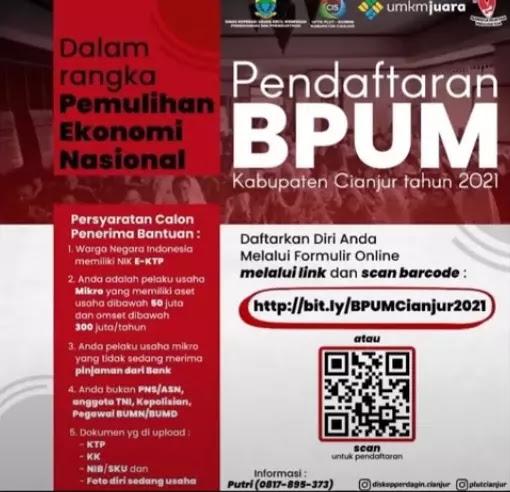 BPUM Kabupaten Cianjur