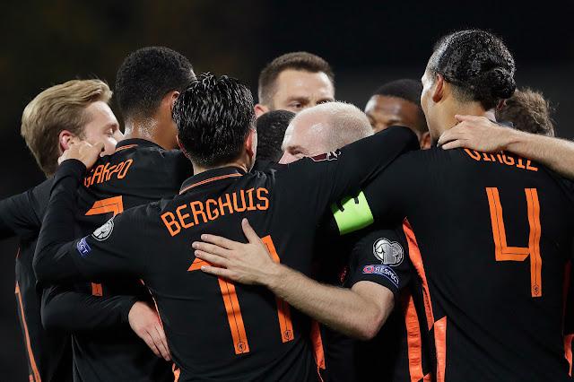 ملخص هدف فوز هولندا علي لاتفيا (1-0) تصفيات كأس العالم