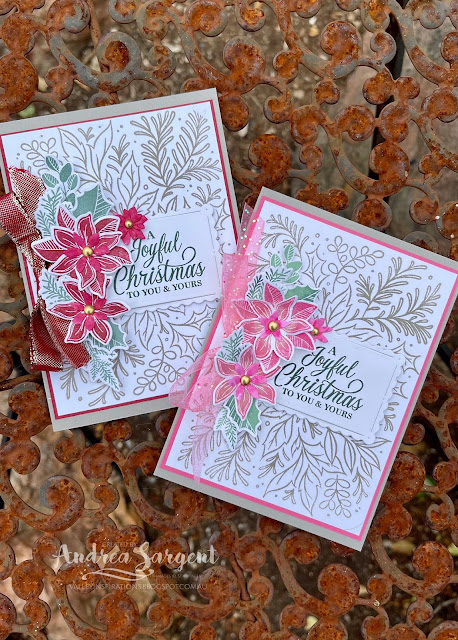 Send joyful Christmas wishes this Christmas with that special touch of a hand crafted card.