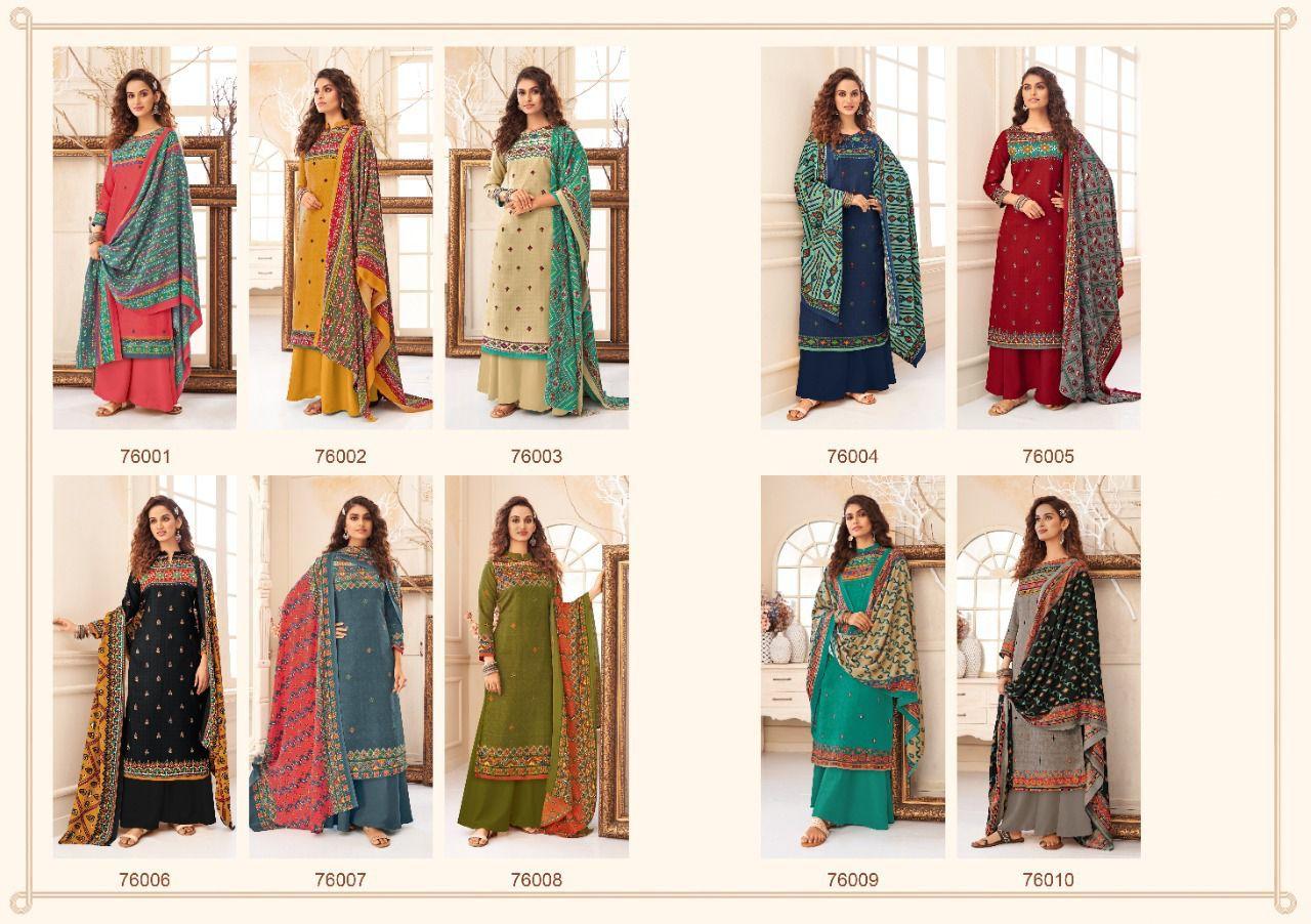 Ankit Textile Bad Girl Pashmina Suits Catalog Lowest Price