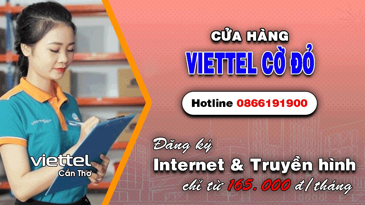 Cửa hàng Viettel Cờ Đỏ - Cần Thơ