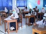 PTM Terbatas di Makassar Berlakukan Protokol Kesehatan Secara Ketat pada Siswa