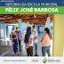 Reforma da Escola Municipal Félix José Barbosa já está em andamento