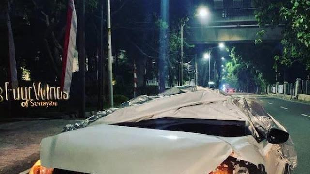 Polda Metro Pastikan Fortuner yang Tabrak Kendaraan di Jalan Tentara Pelajar Bukan Milik Polisi
