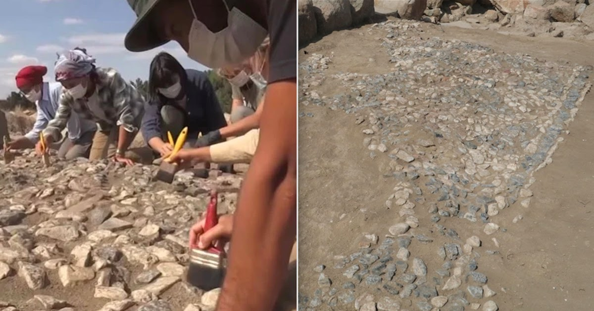 Archeologists Uncover World's Oldest Mosaic In Central Turkey