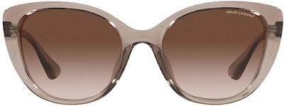 Brown Armani Cat Eye Sunglasses