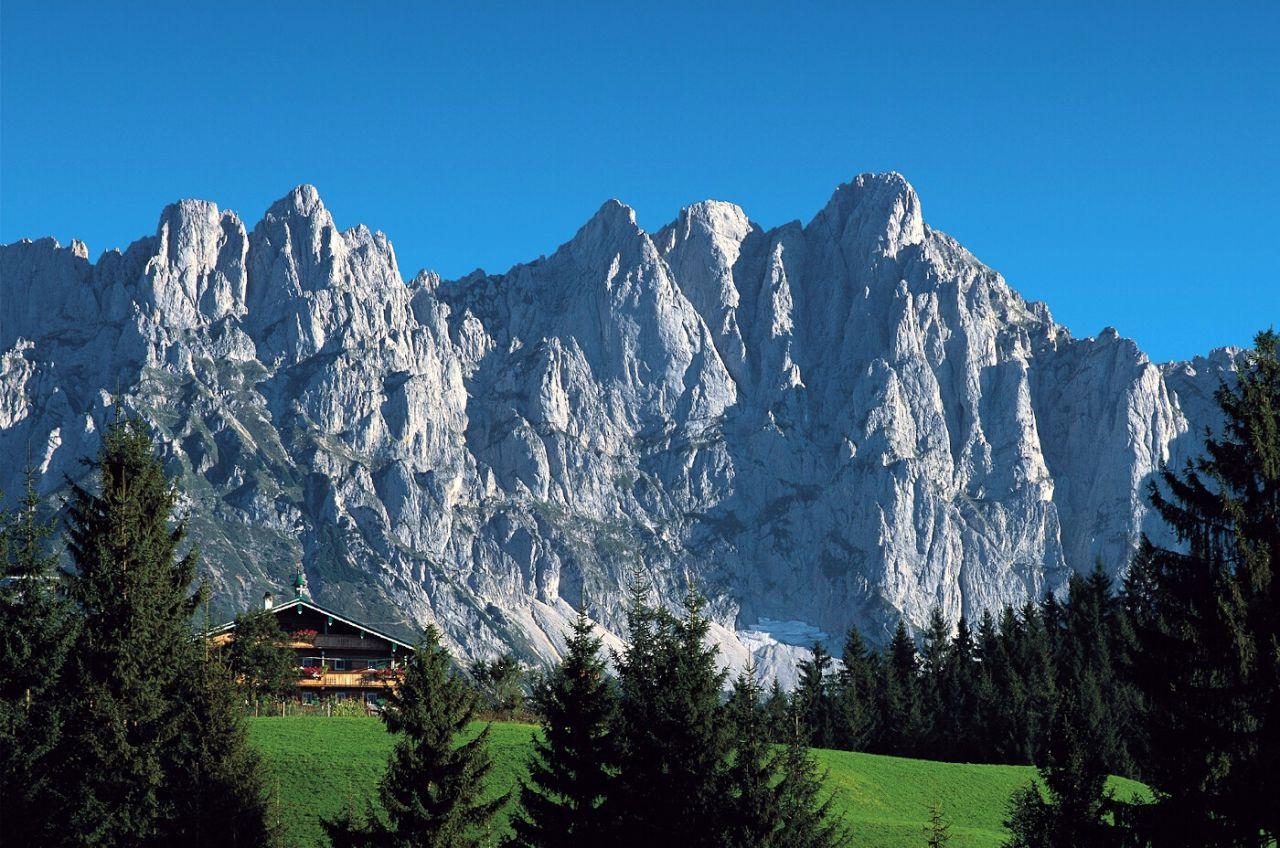 Kaiser Mountains Tyrol