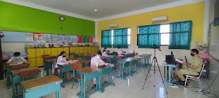 Kegiatan PTMT SD Kristen Kalam Kudus Surakarta