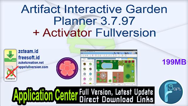 Artifact Interactive Garden Planner 3.7.97 + Activator Fullversion