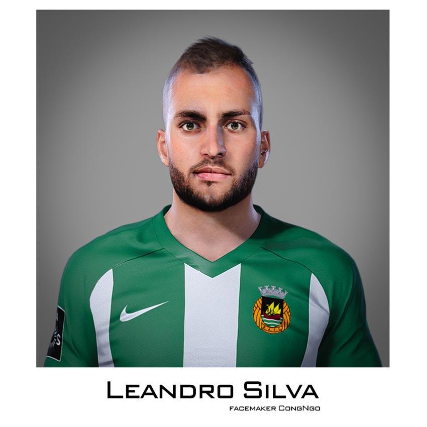 Leandro Silva Face For eFootball PES 2021