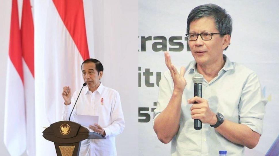 Pertanyakan Pujian Jenius Profesor Singapura ke Jokowi, Rocky Gerung: Dia Ini Riset Betulan Enggak?!
