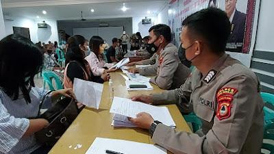 Polres Tana Toraja Salurkan Bantuan Tunai Rp 1.200.000 Secara Transparan