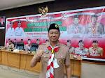 Aklamasi, Kakak H Syafrizal SE Terpilih Ketua Kwarcab Pramuka 0411 Pelalawan