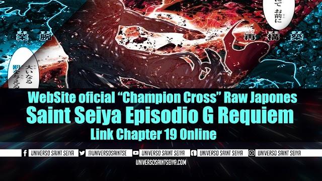 "Saint Seiya Episodio G Requiem – Capitulo 19 – WebSite oficial ""Champion Cross"" Raw Japones"