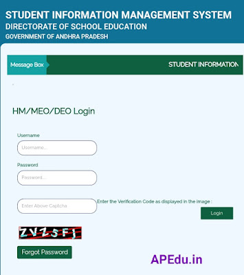 New Child Info SIMS 2021-21 for admissions, dropout and active
