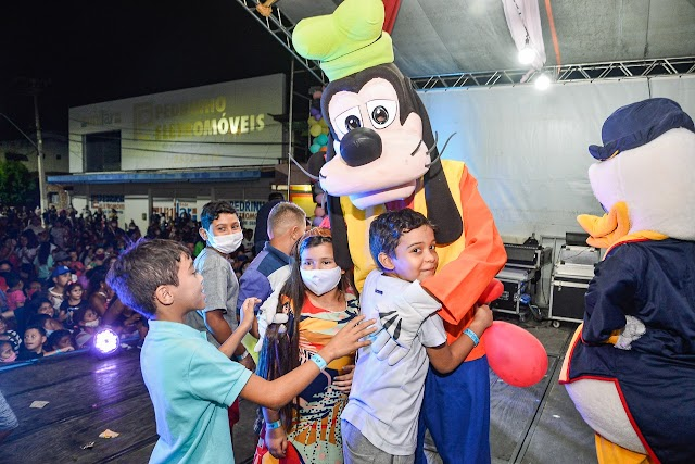 Semthas realiza com sucesso total a 2ª edição do Festival das Crianças