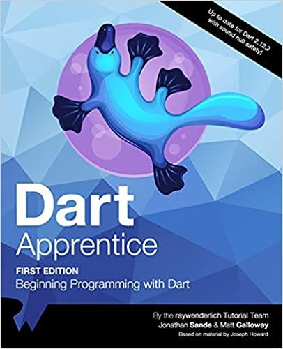 Dart Apprentice : Beginning Programming with Dart