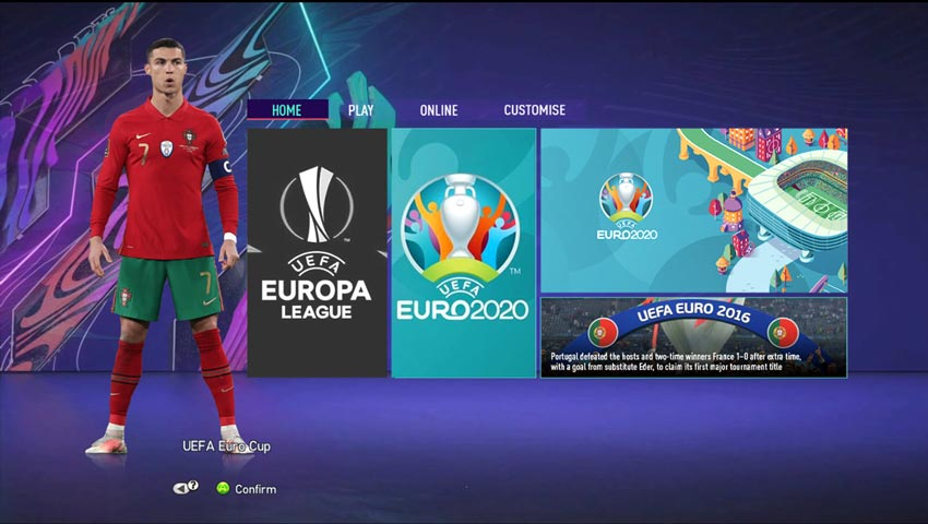 Graphic Mod FIFA 21 For PES 2013