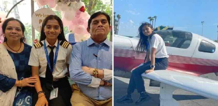 Maitri Patel Indias Youngest Pilot