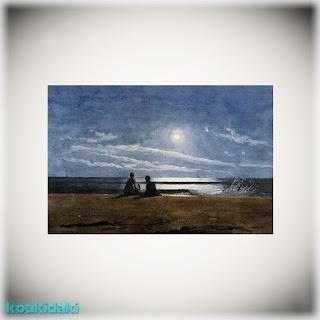 Πίνακας ζωγραφικής Wislow Homer (Moonlight)