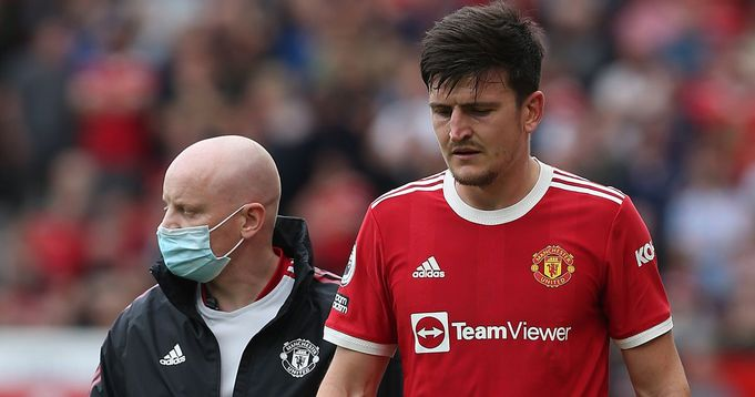 Manchester United Harry Maguire give update on his injury recovery