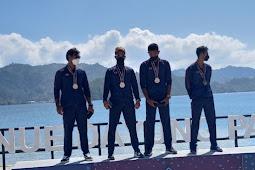 Jawa Barat Juara Umum Disiplin Rowing PON XX Papua