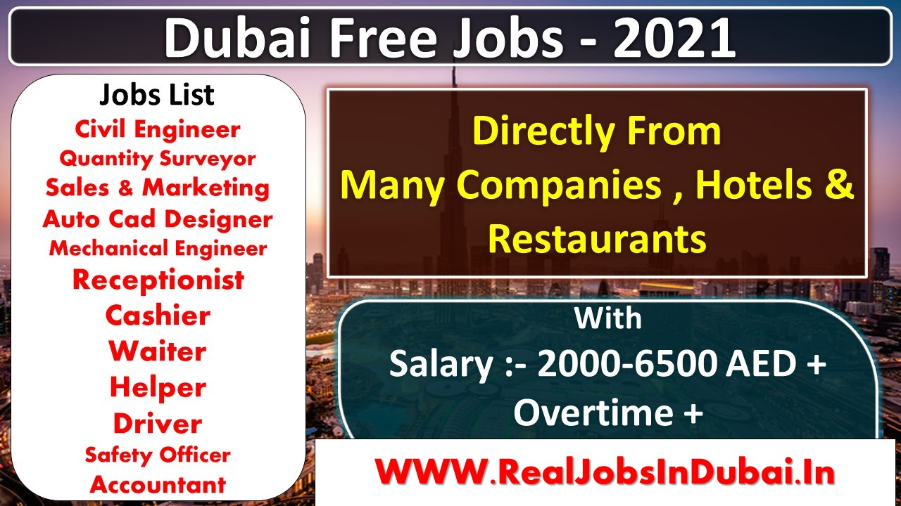 jobs in dubai for indians
