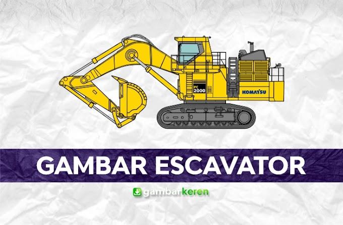 Gambar Excavator