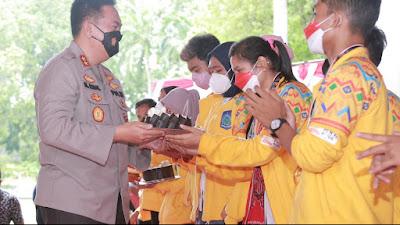 Kapolda NTB Sambut Kepulangan Kontingen NTB Dari PON XX Papua